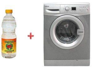 измиване на пералнята с оцет