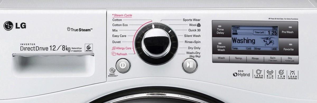 mosógép LG F1695RDH