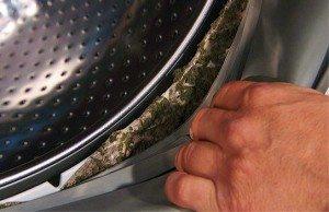 почистване на барабанния маншет в пералнята