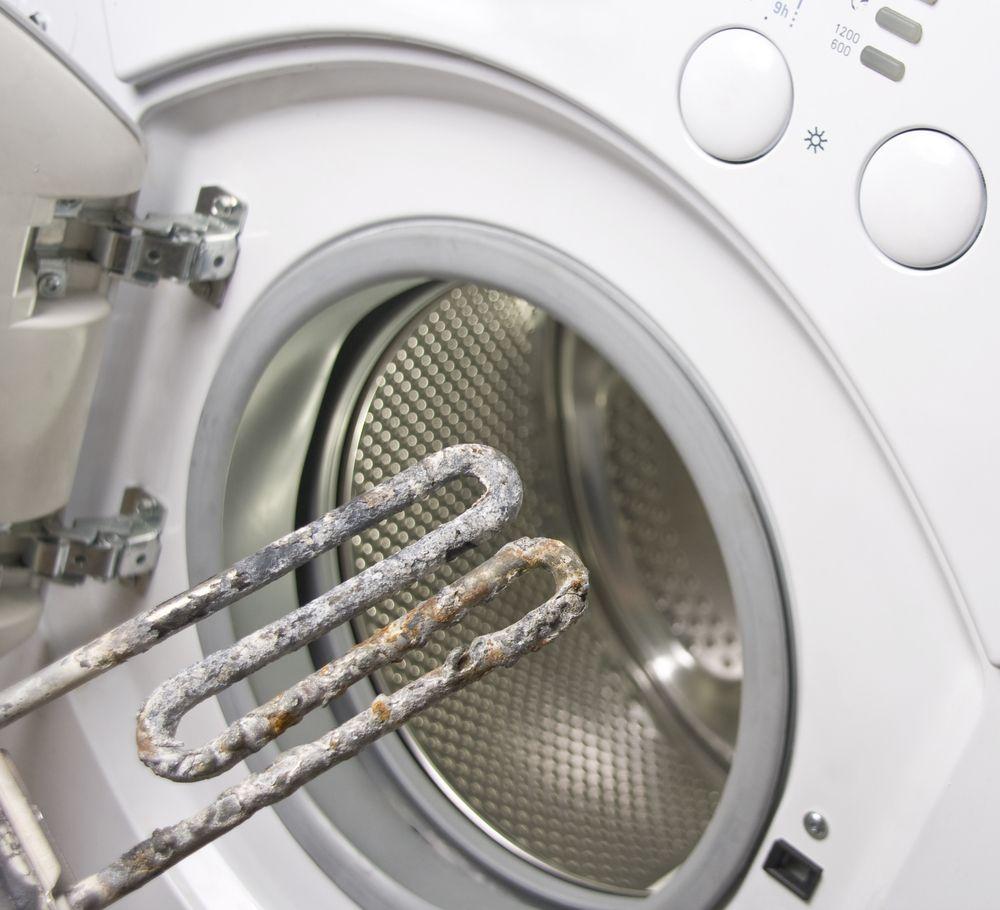 Как да почистите декалера на пералнята