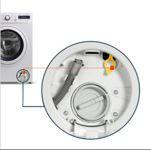 отключване на вратата на пералнята