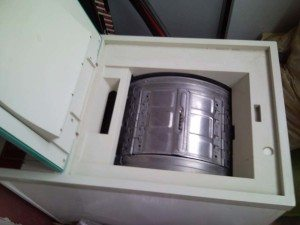 Полуавтоматични неизправни перални машини с центрофуга