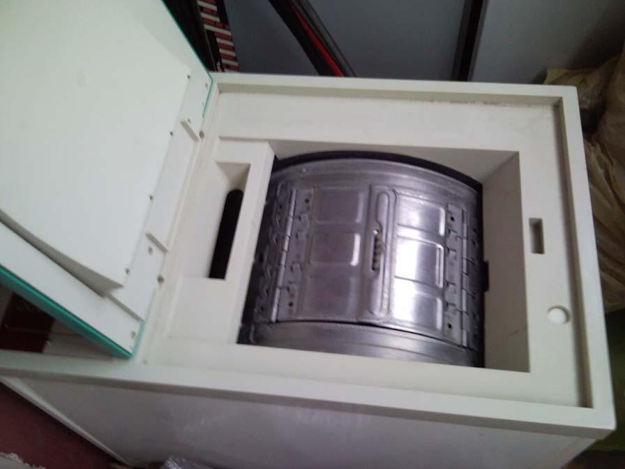 Félautomata mosógép centrifugával történő hibás működése