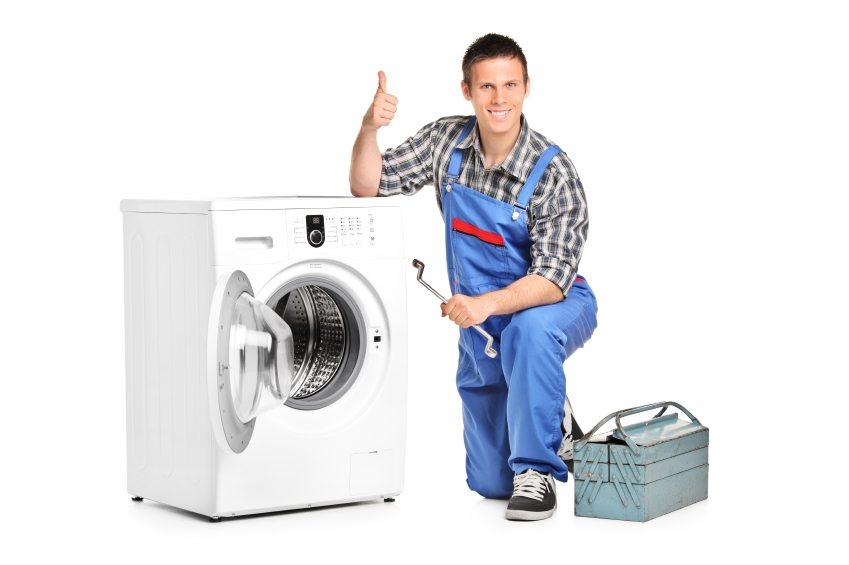 Mesin basuh berhenti semasa mencuci