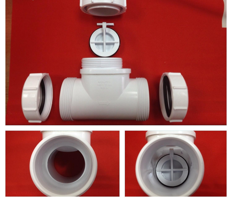 Обратен клапан за миене - Преглед