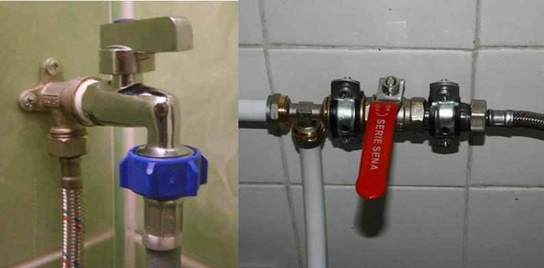air paip untuk mesin basuh