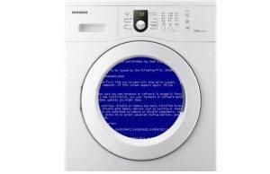 Какво да направите, ако пералня замръзне?