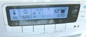 време за машинно пране