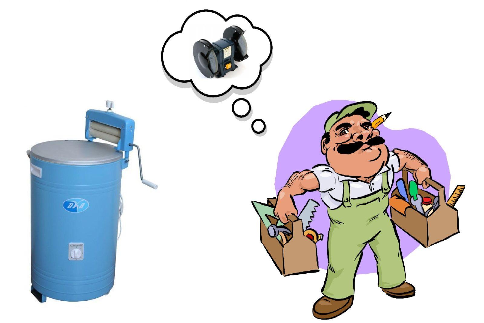 Какво може да се направи от стара пералня
