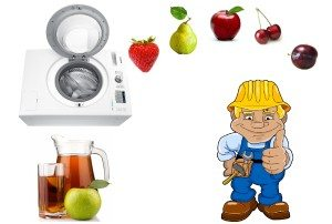 Kako napraviti sokovnik iz perilice rublja
