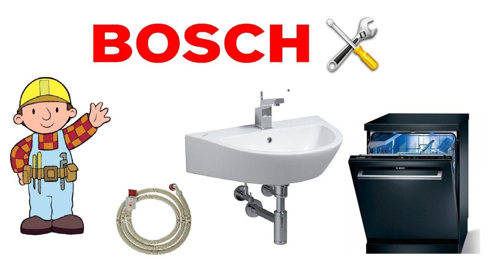 Как сами да свържете съдомиялната машина на Bosch