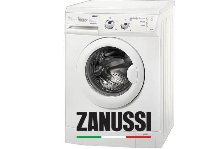 Кодове за грешки за перални машини Zanussi