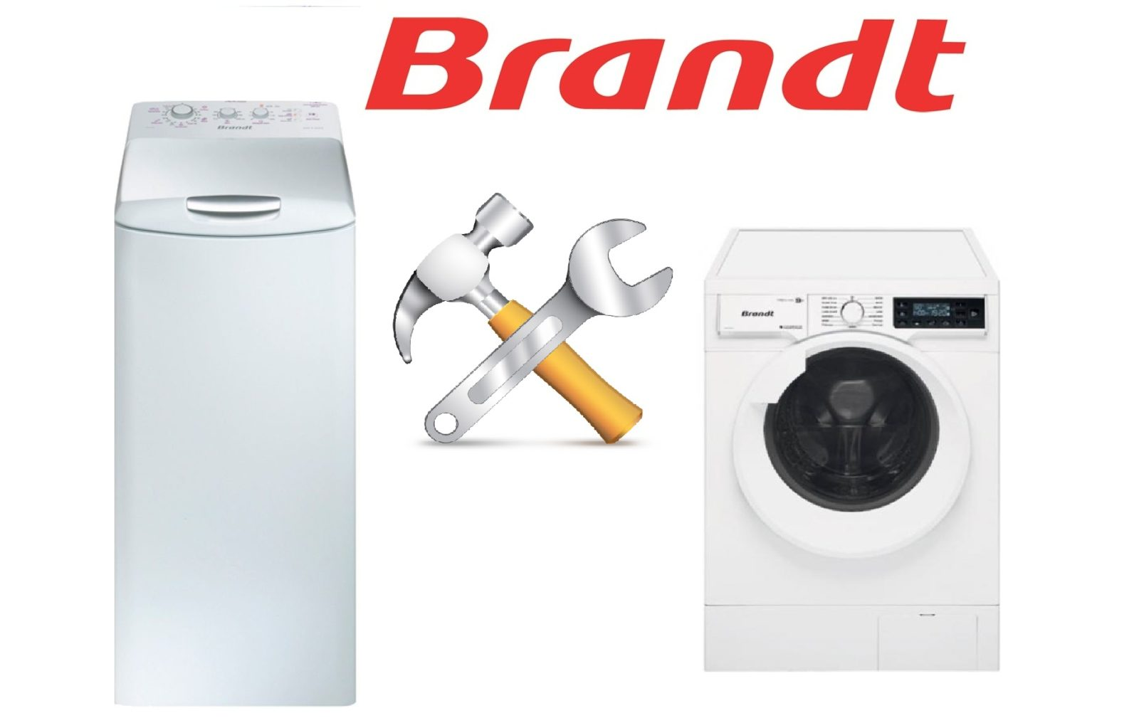 Поправете неизправностите перални машини Brandt