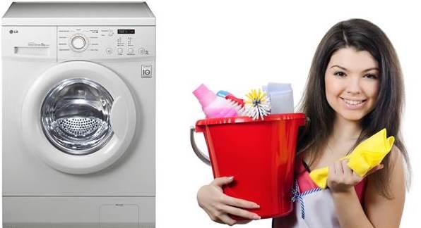 ניקוי עשה זאת בעצמך של מכונת הכביסה