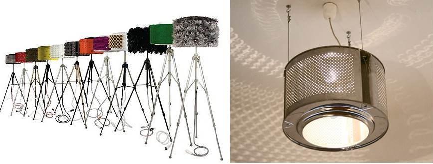 барабанна лампа