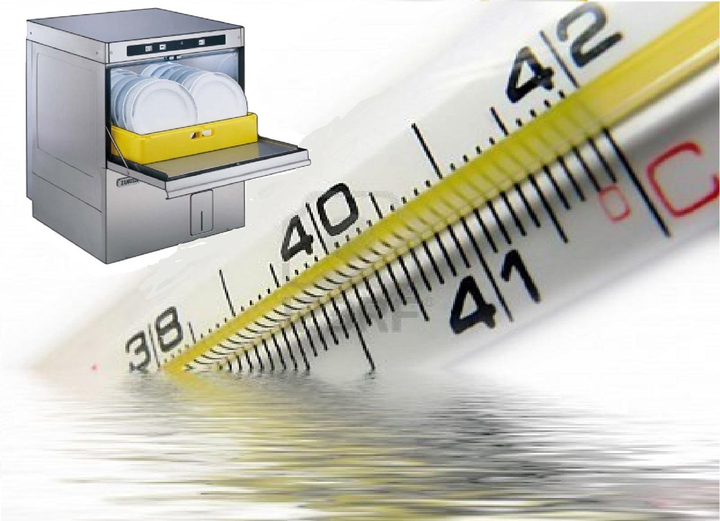 Jangan panaskan air di dalam mesin basuh pinggan mangkuk