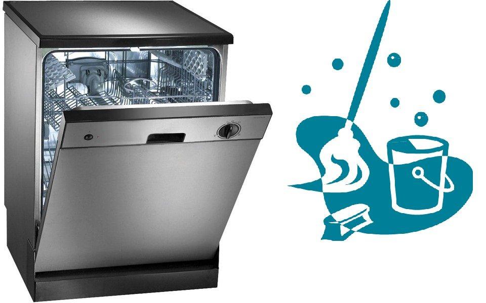 Как да почистите вашата съдомиялна машина вътре