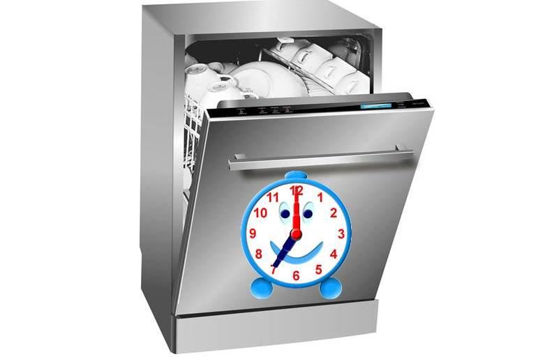 Колко време мие съдомиялната машина?