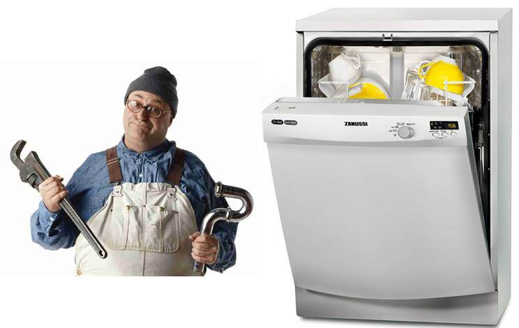 Kako spojiti perilicu posuđa na vodovod i kanalizaciju
