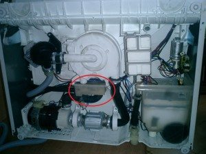 Druckschalter für die Spülmaschine