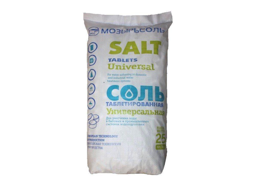 таблетирана сол