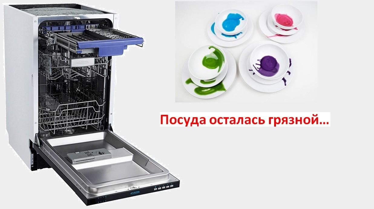 A mosogatógép nem mossa el az edényeket - saját kezűleg megjavítjuk