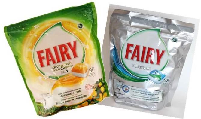 Kajian Tablet Tablet Pembasuh Fairy