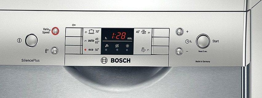 Индикатори за съдомиялна машина Bosch