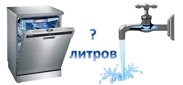 Консумация на вода в съдомиялни машини