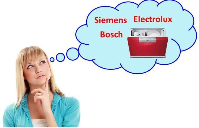 Melyik mosogatógép jobb - Bosch, Siemens, Electrolux?