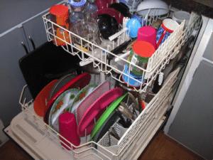a mosogatógép első futtatása