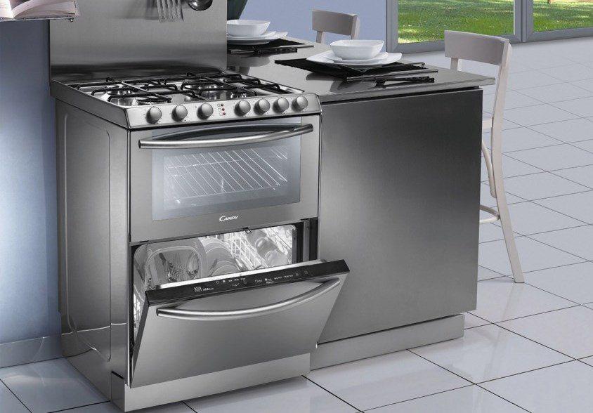 Преглед на газова печка с миялна машина и / или фурна