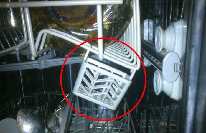 кошница за таблетки в съдомиялната машина
