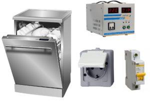 Gép és aljzat mosogatógéphez