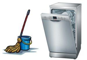 Hogyan kell gondoskodni a mosogatógépről