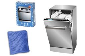 Преглед и преглед на съдомиялната машина с наноразмер