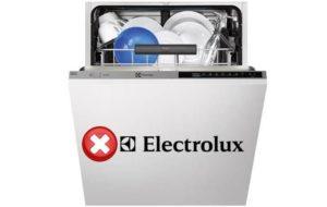 Electrolux kodovi pogrešaka za suđe