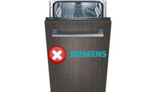 Šifre grešaka u perilici Siemensa