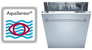 Apa itu aquasensor dalam mesin basuh pinggan mangkuk