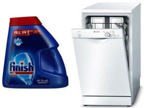 Gél a mosogatógéphez