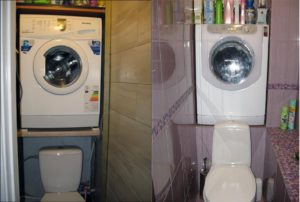 тоалетна пералня