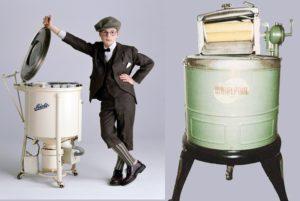 първи полуавтоматични машини
