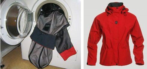 Средства за пране на мембранни дрехи