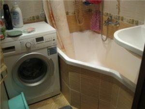 пералня в банята
