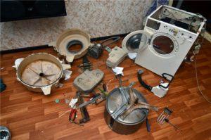 Demontering av vaskemaskinen Atlant