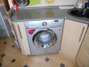 Aufsatzwaschmaschine In Der Kuche