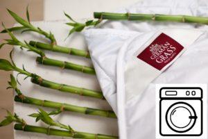 Adakah mungkin untuk mencuci selimut buluh dalam mesin basuh?