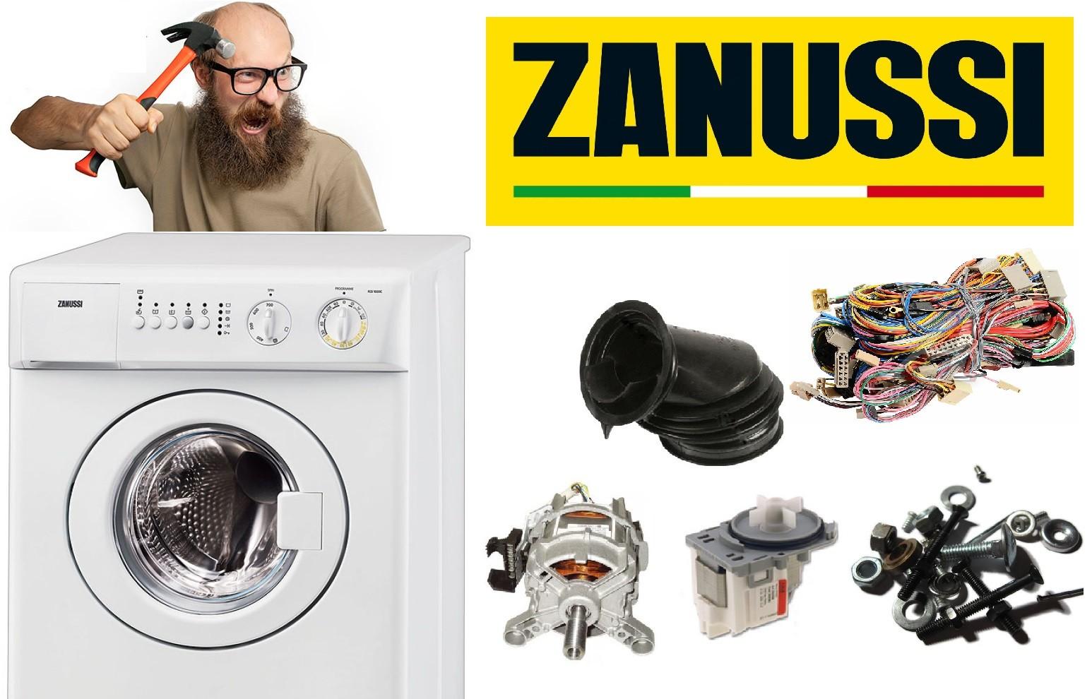 Bagaimana untuk membongkar mesin basuh Zanussi