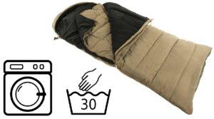 Bagaimana untuk mencuci beg tidur di mesin basuh