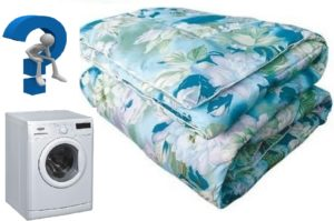 Bolehkah saya membasuh selimut padding saya di mesin basuh dan bagaimana?